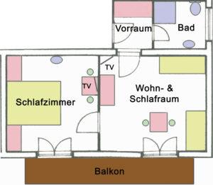 Zimmer Grundriss